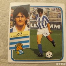 Cromos de Fútbol: LASA REAL SOCIEDAD NUNCA PEGADO ED ESTE LIGA 89 90 1989-90. Lote 195060176