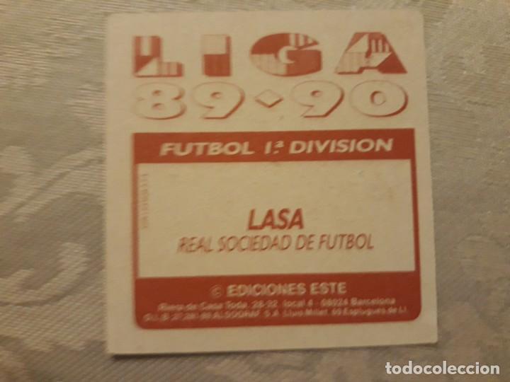 Cromos de Fútbol: LASA REAL SOCIEDAD NUNCA PEGADO ED ESTE LIGA 89 90 1989-90 - Foto 2 - 195060176
