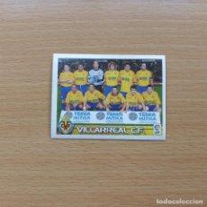 Cromos de Fútbol: 406 ALINEACIÓN VILLARREAL CF SUPERLIGA ESTRELLAS PANINI 2003 2004 03 04 NUEVO SIN PEGAR NUNCA PEGADO. Lote 195061308