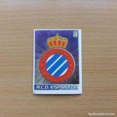 Cromos de Fútbol: 185 ESCUDO ESPANYOL ESPAÑOL SUPERLIGA ESTRELLAS PANINI 2003 2004 03 04 SIN PEGAR NUNCA PEGADO. Lote 195061358