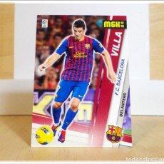 Cromos de Fútbol: MEGACRACKS 2012 2013 12 13 PANINI VILLA Nº 54 (BARCELONA) CROMO LIGA ALBUM FÚTBOL BARÇA. Lote 195079016