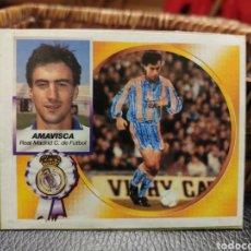 Cromos de Fútbol: CROMO EDICIONES ESTE TEMPORADA 94-95 AMAVISCA FICHAJE 35 DOBLE VERSIÓN. Lote 195112671