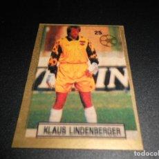 Cromos de Fútbol: 25 KLAUS LINDENBERGER AUSTRIA STICKER FIFA WORLD CUP ITALY 90 MUNDIAL ITALIA 1990 REYAUCA. Lote 195112690