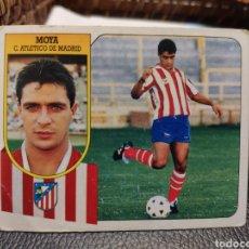 Cromos de Fútbol: CROMO EDICIONES ESTE TEMPORADA 91-92 MOYA FICHAJE 2 NUNCA PEGADO. Lote 195123285