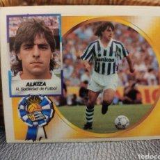 Cromos de Fútbol: CROMO EDICIONES ESTE TEMPORADA 94-95 ALKIZA BAJA NUNCA PEGADO. Lote 195123798