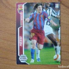 Cromos de Fútbol: MEGACRACKS 2005 2006 PANINI Nº 71 BIS LEO MESSI (FC BARCELONA) - CROMO LIGA 05 06 BARÇA. Lote 195149676