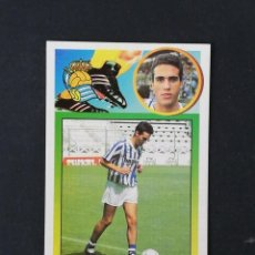 Cromos de Fútbol: RSO PIKABEA REAL SOCIEDAD 1993 1994 ESTE 93 94 CROMO CARTON SIN PEGAR NUEVO NUNCA PEGADO. Lote 195151803