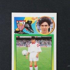 Cromos de Fútbol: SEV CARVAJAL SEVILLA 1993 1994 ESTE 93 94 CROMO CARTON SIN PEGAR NUEVO NUNCA PEGADO. Lote 195151863