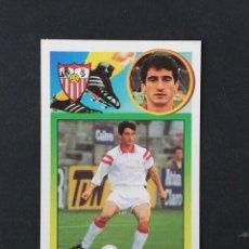 Cromos de Fútbol: SEV JIMENEZ SEVILLA 1993 1994 ESTE 93 94 CROMO CARTON SIN PEGAR NUEVO NUNCA PEGADO. Lote 195151958