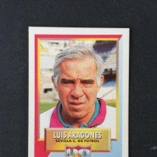 Cromos de Fútbol: SEV LUIS ARAGONES SEVILLA 1993 1994 ESTE 93 94 CROMO CARTON SIN PEGAR NUEVO NUNCA PEGADO. Lote 195152085