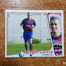 Cromos de Fútbol: SERGIO GARCIA. LEVANTE. SIN PEGAR. EDICIONES ESTE. LIGA 2004/05. 04/05. Lote 195153298