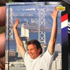 Cromos de Fútbol: TARJETA DE UPPER DECK MUNDIAL ESTADOS UNIDOS 1994 HONORARY CAPTAIN JOE MONTANA SAN FRANCISCO. Lote 195155702