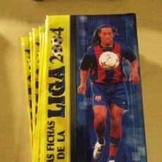 Cromos de Fútbol: 10 SOBRES - LAS FICHAS DE LA LIGA 2004. Lote 195156558