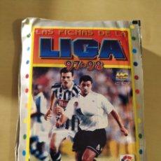 Cromos de Fútbol: 10 SOBRES - LAS FICHAS DE LA LIGA 97 98. Lote 195156576