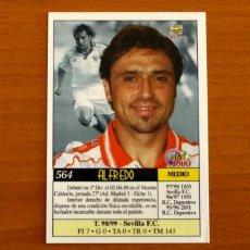 Cromos de Fútbol: SEVILLA - Nº 564, ALFREDO - ÚLTIMA HORA - LAS FICHAS DE LIGA MUNDICROMO 1999-2000, 99-00. Lote 195163271