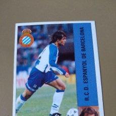 Cromos de Fútbol: LTG PANINI 96 95 1995 1996 MENDIONDO ESPAÑOL ESPANYOL NUNCA PEGADO. Lote 195168595