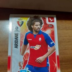 Cromos de Fútbol: TRADING CARD ADRENALYN 2019/2020,EDITORIAL PANINI,JUGADOR ARIDANE (OSASUNA),SIN ACTIVAR,Nº 256. Lote 195168692