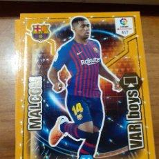 Cromos de Fútbol: TRADING CARD ADRENALYN 2018/19, EDITORIAL PANINI, JUGADOR MALCOM (VAR BOYS), Nº 417. Lote 195188298