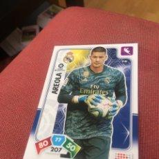 Cromos de Fútbol: ADRENALYN 2019 2020 29 20 REAL MADRID AREOLA 218. Lote 195193616