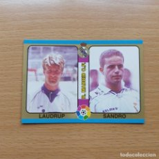 Cromos de Fútbol: 33 LAUDRUP / SANDRO REAL MADRID MUNDICROMO FUTBOL TOTAL 1ª DIVISIÓN 1994 1995 LIGA 94 95 . Lote 195193656
