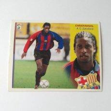 Cromos de Fútbol: BARCELONA EDICIONES ESTE 2002-2003 CHRISTANVAL 02-03 NUNCA PEGADO 02/03. Lote 195198022