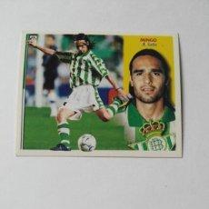 Cromos de Fútbol: BETIS EDICIONES ESTE 2002-2003 MINGO 02-03 NUNCA PEGADO 02/03. Lote 195227982