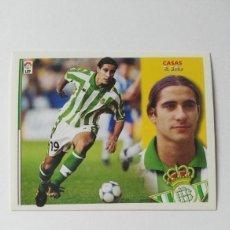 Cromos de Fútbol: BETIS EDICIONES ESTE 2002-2003 CASAS 02-03 NUNCA PEGADO 02/03. Lote 195228107
