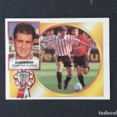 Cromos de Fútbol: ATB GUERRERO ATHLETIC DE BILBAO 1994 1995 ESTE 94 95 SIN PEGAR NUEVO NUNCA PEGADO. Lote 195241033