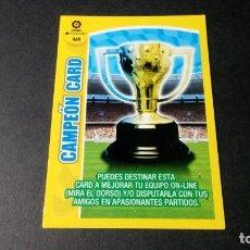 Cromos de Fútbol: 469 CAMPEON CARD PANINI ADRENALYN XL LIGA2017 2018 17 18 NO ESTE ALBUM. Lote 195248602
