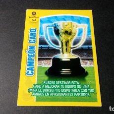 Cromos de Fútbol: 469 CAMPEON CARD PANINI ADRENALYN XL LIGA2017 2018 17 18 NO ESTE ALBUM. Lote 195248612