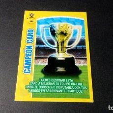 Cromos de Fútbol: 469 CAMPEON CARD PANINI ADRENALYN XL LIGA2017 2018 17 18 NO ESTE ALBUM. Lote 195248620