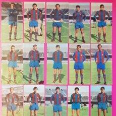 Cromos de Fútbol: RUIZ ROMERO 1969-1970 FC BARCELONA 16 CROMOS DIFERENTES 69-70. Lote 195261142