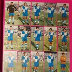 Cromos de Fútbol: RUIZ ROMERO 1969-1970 SABADELL 17 CROMOS EQUIPO COMPLETO 69-70. Lote 195261346