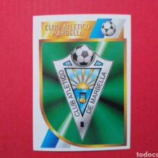 Cromos de Fútbol: CROMO ESCUDO MARBELLA LIGA ESTE 94 95 SEGUNDA DIVISIÓN 1994 1995 2A. Lote 195261358