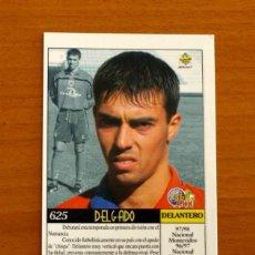 Cromos de Fútbol: NUMANCIA - Nº 625, DELGADO - ÚLTIMA HORA - LAS FICHAS DE LIGA MUNDICROMO 1999-2000, 99-00. Lote 195261500