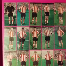 Cromos de Fútbol: RUIZ ROMERO 1969-1970 ATH. DE BILBAO 17 CROMOS EQUIPO COMPLETO 69-70. Lote 195263721