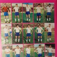 Cromos de Fútbol: RUIZ ROMERO 1969-1970 ZARAGOZA 16 CROMOS DIFERENTES 69-70. Lote 195264282