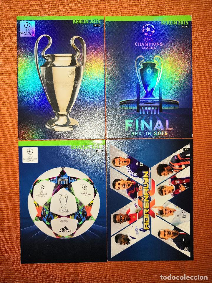 Cromos de Fútbol: LOTE CARDS ADRENALYN XL CHAMPIONS 2014-2015 14 15 ACTUALIZACION UPDATE EDITION - Foto 2 - 195266260