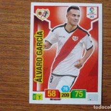 Cromos de Fútbol: ADRENALYN XL 2018 2019 PANINI Nº 263 ALVARO GARCIA (RAYO VALLECANO) - CROMO LIGA 18 19. Lote 195325665