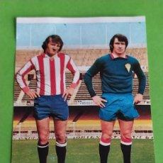 Cromos de Fútbol: SPORTING GIJON 62 ABELARDO CHURRUCA RUIZ ROMERO 75 76 1975 1976 RECUPERADO. Lote 195325712