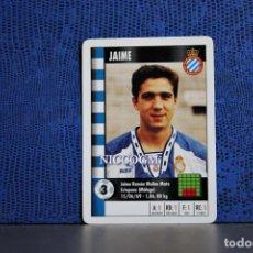 Cromos de Fútbol: JAIME RCD ESPAÑOL MARCA SUPERGOL 1995 1996 CARTA FOURNIER TARJETA 95 96 LIGA FUTBOL CROMO . Lote 195325745