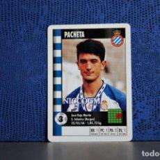Cromos de Fútbol: PACHETA RCD ESPAÑOL MARCA SUPERGOL 1995 1996 CARTA FOURNIER TARJETA 95 96 LIGA FUTBOL CROMO . Lote 195325775
