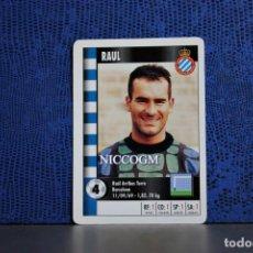 Cromos de Fútbol: RAUL RCD ESPAÑOL MARCA SUPERGOL 1995 1996 CARTA FOURNIER TARJETA 95 96 LIGA FUTBOL CROMO . Lote 195325840
