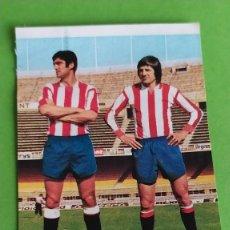Cromos de Fútbol: SPORTING GIJON 63 LANDUCCI FABIAN RUIZ ROMERO 75 76 1975 1976 RECUPERADO. Lote 195325937