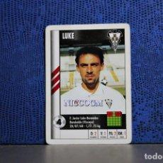 Cromos de Fútbol: LUKE ALBACETE MARCA SUPERGOL 1995 1996 CARTA FOURNIER TARJETA 95 96 LIGA FUTBOL CROMO . Lote 195336162