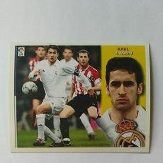 Cromos de Fútbol: REAL MADRID EDICIONES ESTE 2002-2003 RAUL 02-03 NUNCA PEGADO 02/03 . Lote 195339033