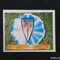 Cromos de Fútbol: COM ESCUDO COMPOSTELA 1994 1995 ESTE 94 95 SIN PEGAR NUEVO NUNCA PEGADO. Lote 195339080