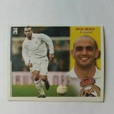 Cromos de Fútbol: REAL MADRID EDICIONES ESTE 2002-2003 RAUL BRAVO 02-03 NUNCA PEGADO 02/03 . Lote 195339118