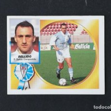 Cromos de Fútbol: COM BELLIDO CASTRO COMPOSTELA 1994 1995 ESTE 94 95 SIN PEGAR NUEVO NUNCA PEGADO. Lote 195339157