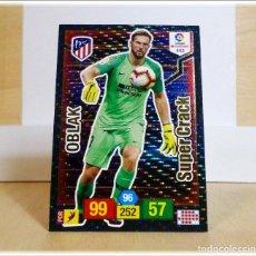 Cromos de Fútbol: ADRENALYN 2018 2019 18 19 PANINI OBLAK Nº 443 SUPER CRACK ATLÉTICO MADRID CROMO LIGA ÁLBUM FÚTBOL. Lote 195354343